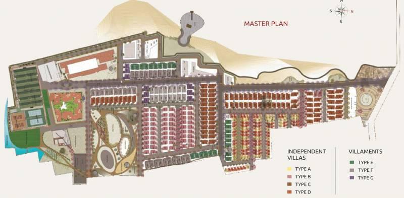 Images for Master Plan of Avigna Celeste Apartment
