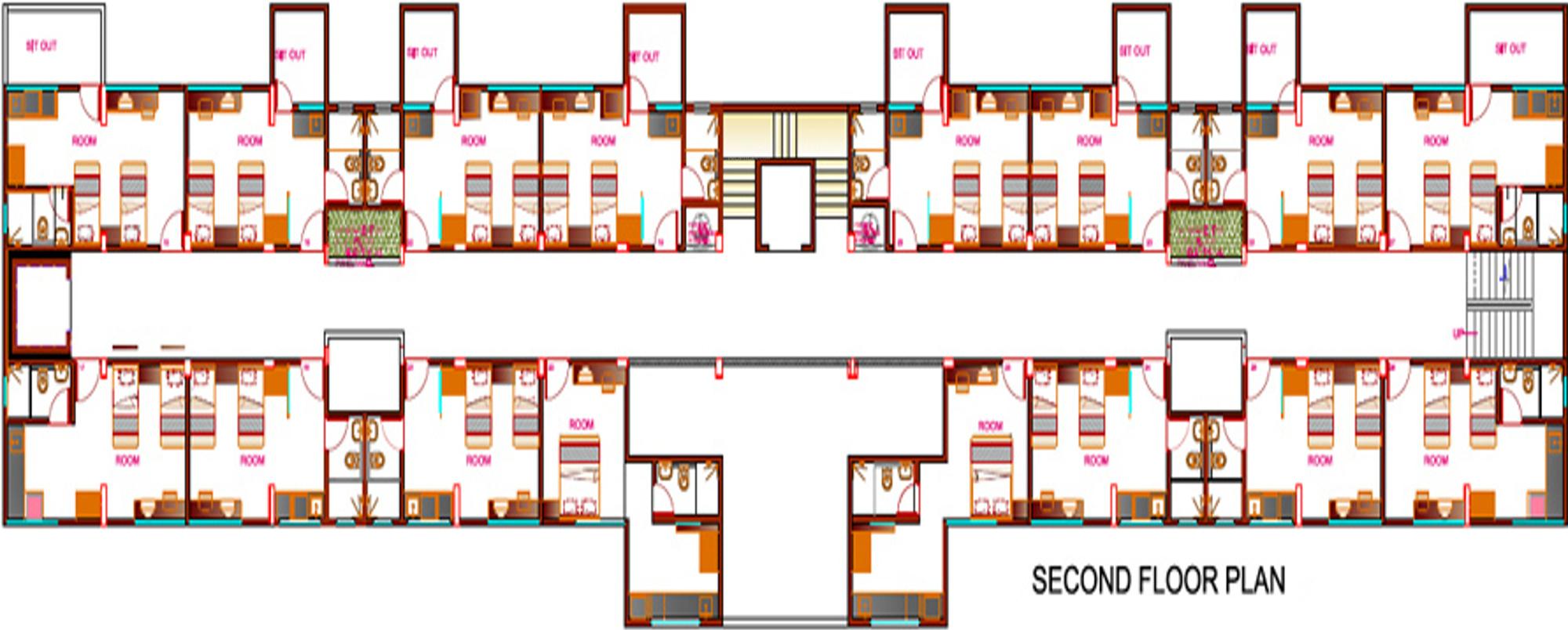 Goel ganga studio apartments in mundhwa pune price for Apartment cluster plans