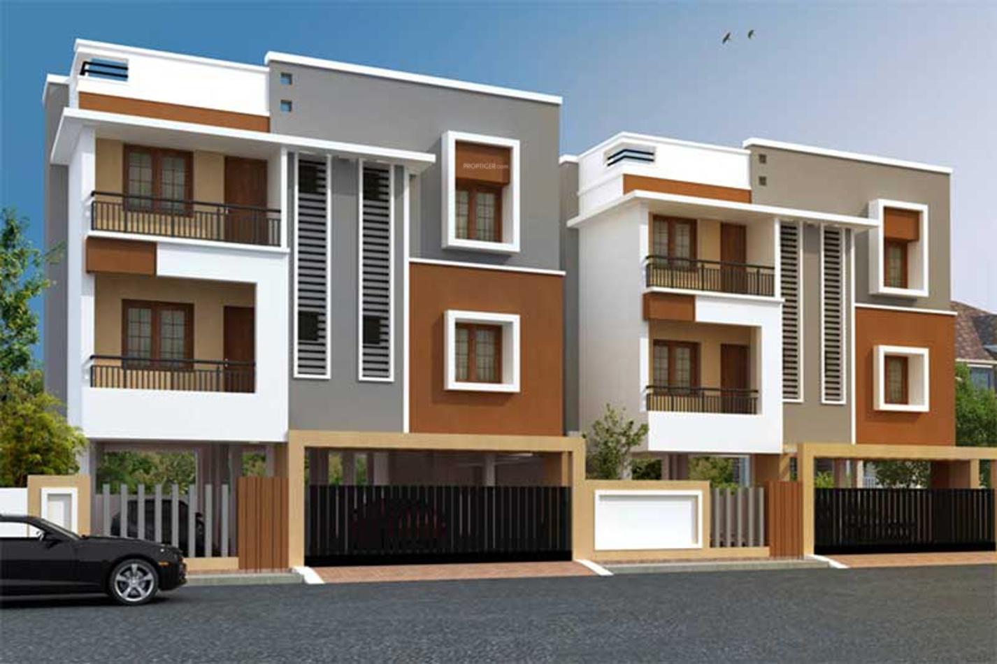 2 Floor Apartment Elevation : Sq ft bhk t apartment for sale in brownstone quartz