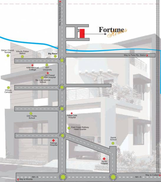 Images for Location Plan of Fortune Home