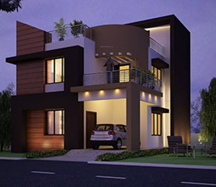 Elevation Mediterranean Architecture Style House Plans: Main Elevation Image 1 Of Fortune Infra Properties Home