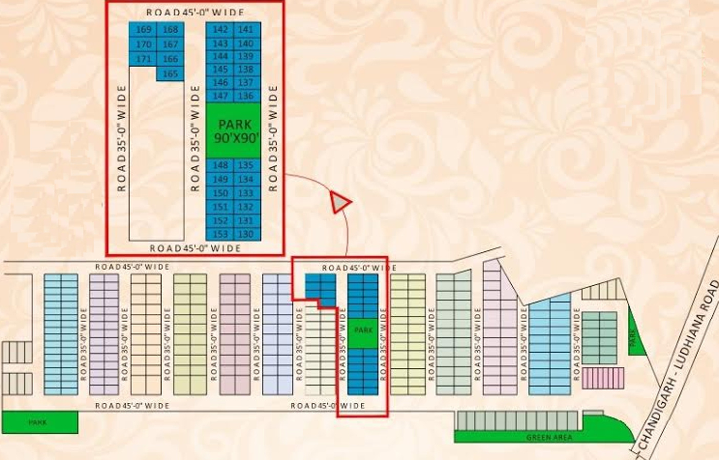 990 sq ft 2 bhk 2t apartment for sale in elite developers for Elite house plans
