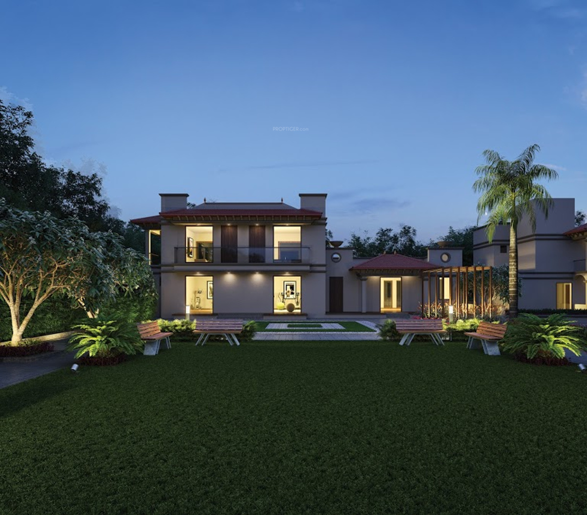 2430 sq ft 4 bhk 4t villa for sale in siddhivinayak realty for Casa bella