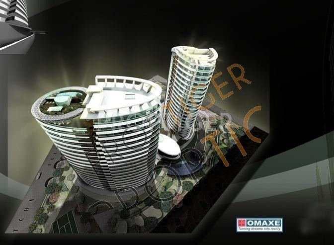 Images for Layout Plan of Omaxe Twin Towers