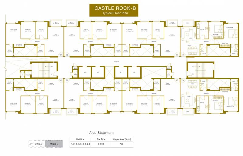 Images for Cluster Plan of Hiranandani Castle Rock