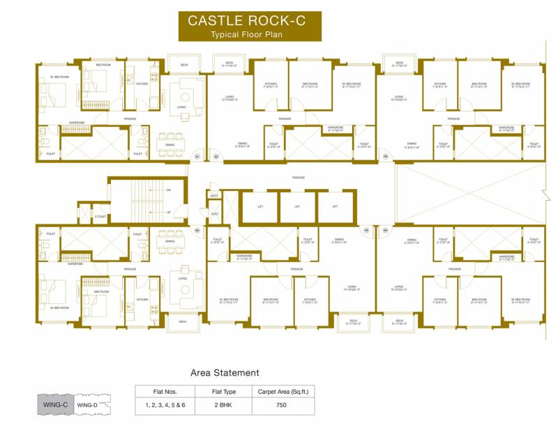 Images for Cluster Plan of Hiranandani Castle Rock