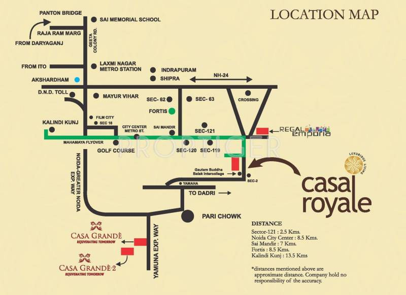 Images for Location Plan of Earthcon Casa Royale