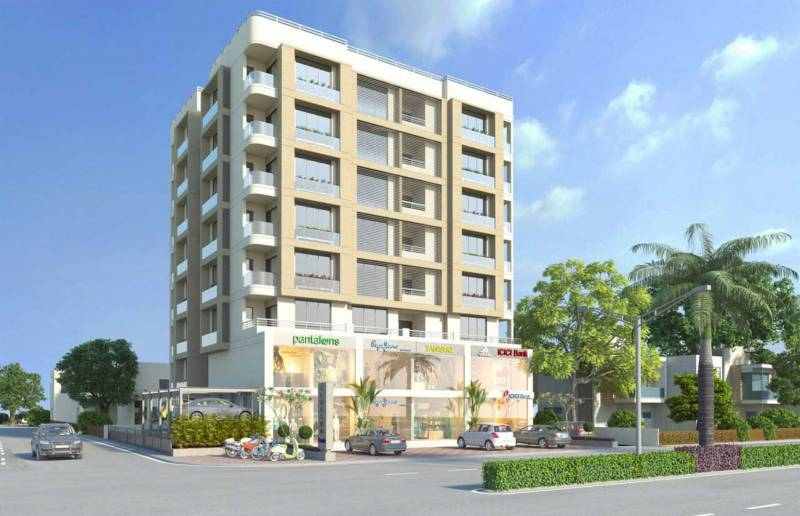 Images for Elevation of Shree Vardhman Developers Ahmedabad Blossom Oasis