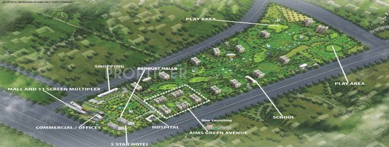 Images for Layout Plan of Aims Green Avenue