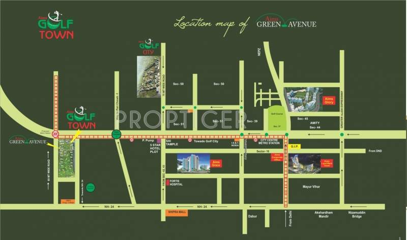 Images for Location Plan of Aims Green Avenue
