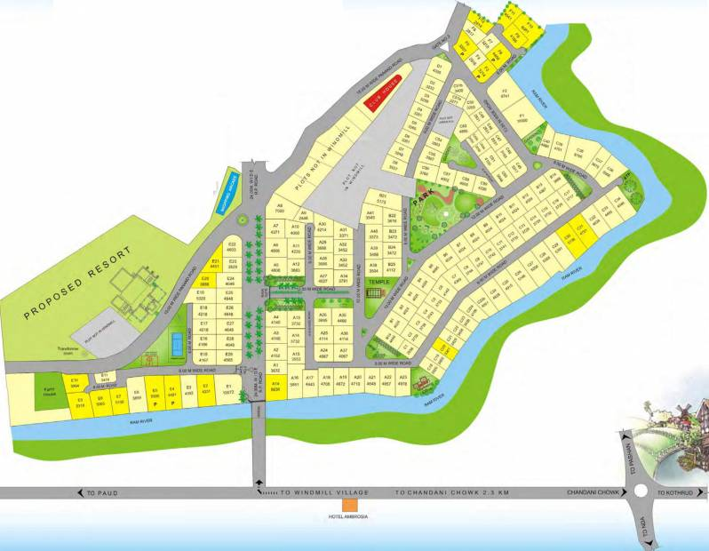 Images for Layout Plan of  Windmill Village Villa