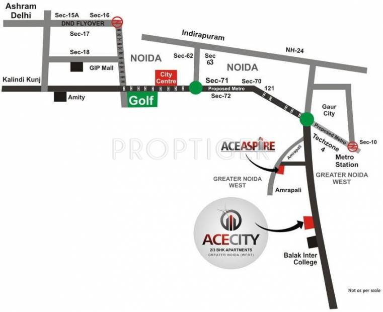city Images for Location Plan of Ace City