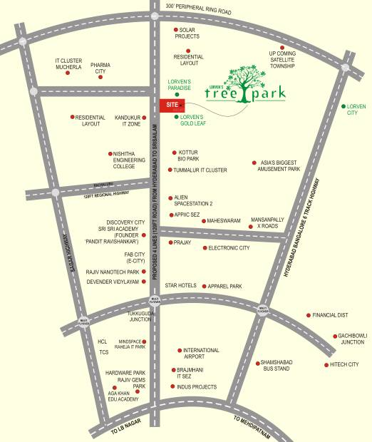 Images for Location Plan of Vasundhara Tree Park