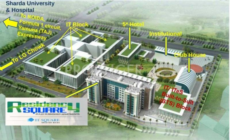 Images for Elevation of Adel Residency Square