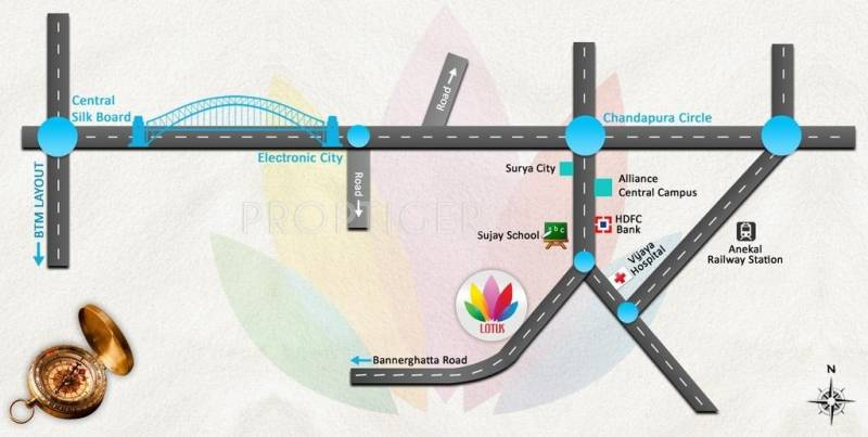 JS Homes Lotus Location Plan