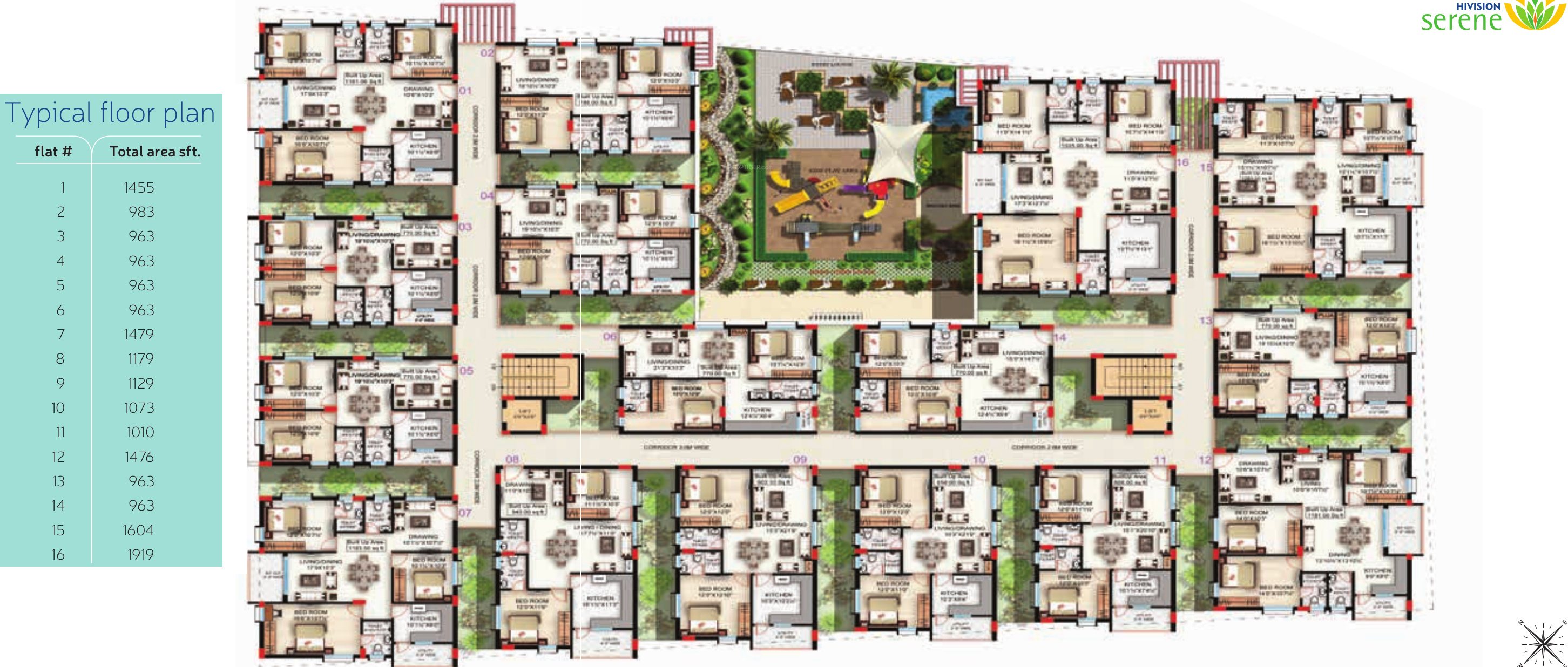 Hivision Serene In As Rao Nagar Hyderabad Price