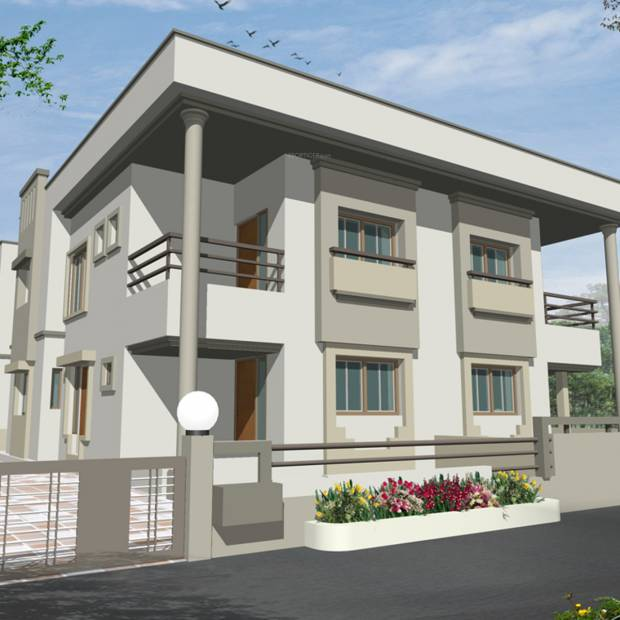 Images for Elevation of Savaliya Builders Madhuvan Bungalows