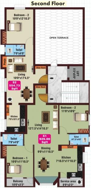 Images for Cluster Plan of JKB Golden Arch