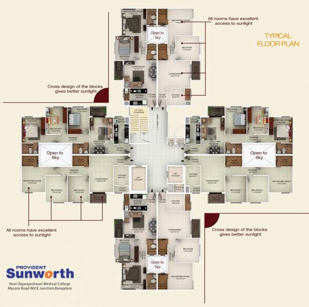 Images for Cluster Plan of Provident Sunworth