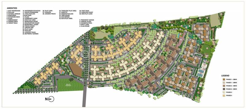 Images for Master Plan of Provident Sunworth