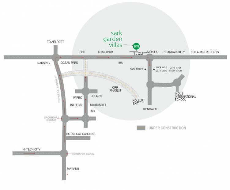 Images for Location Plan of Sark Garden Villas