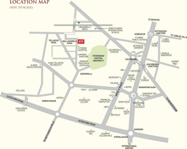 Images for Location Plan of Trishala Saffron Sanathan