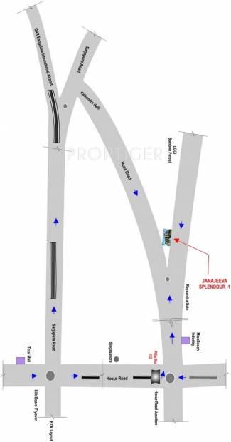 splendour-1 Images for Location Plan of Jana Splendour 1