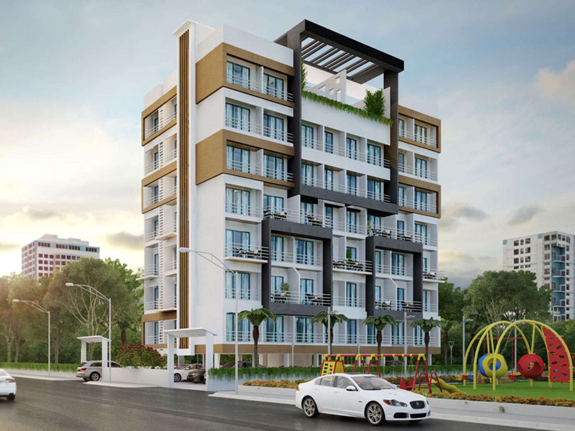 450 Sq Ft 1 Bhk 1t Apartment For Sale In Villa Group Angan Villa Dronagiri Mumbai