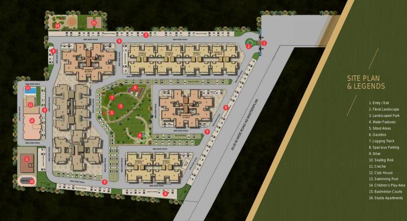 Images for Site Plan of APS Highland Park