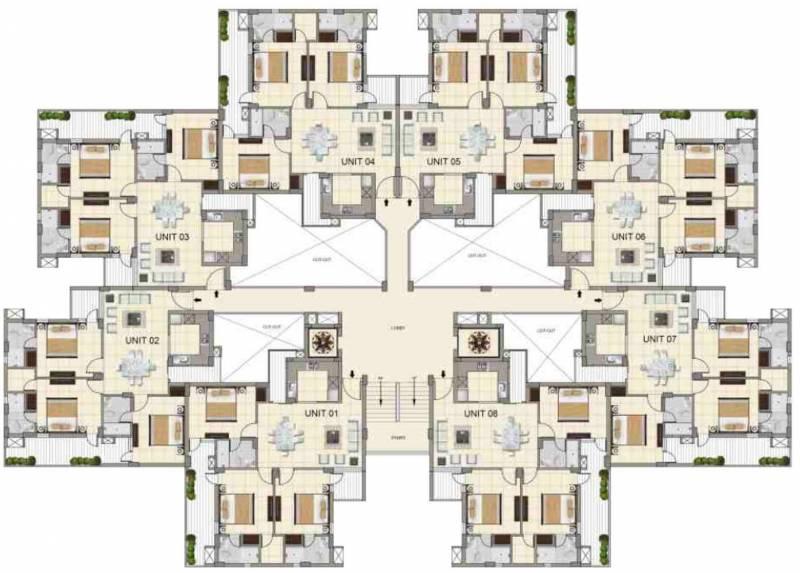 Images for Cluster Plan of APS Highland Park
