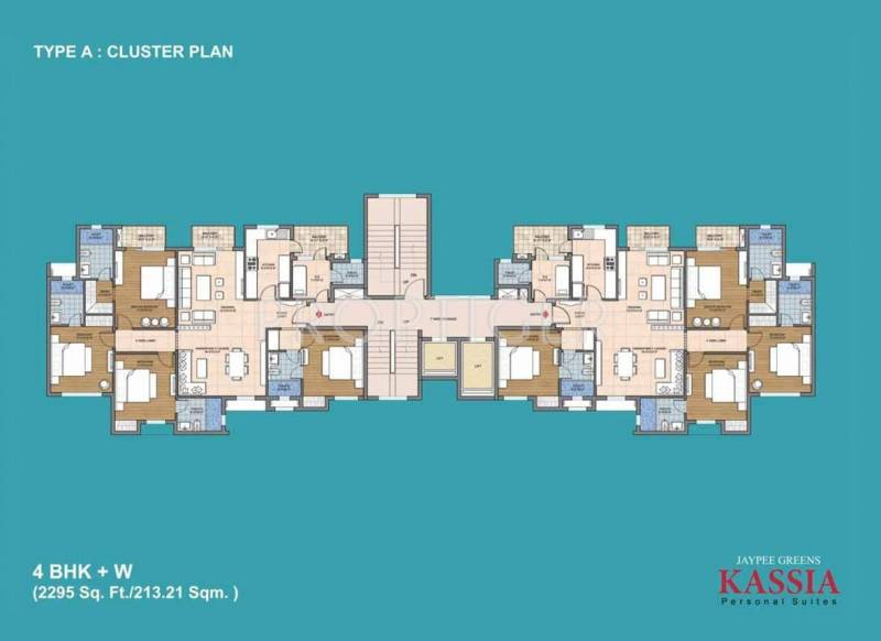 Images for Cluster Plan of Jaypee Kassia