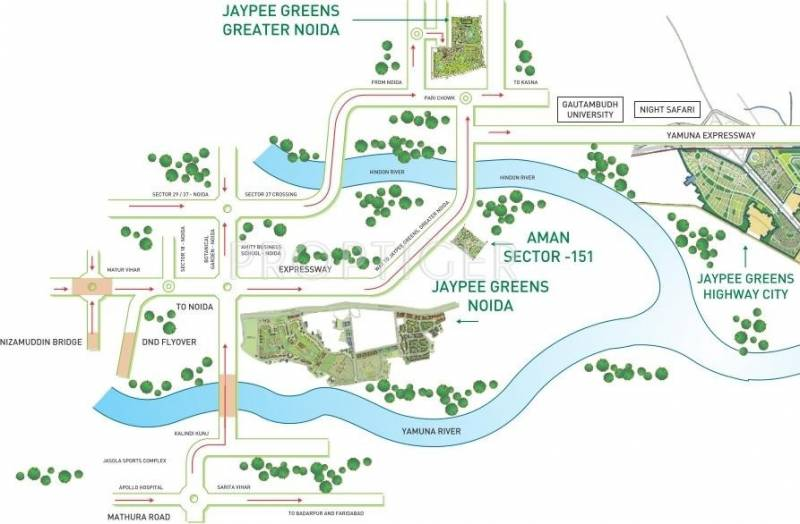 Images for Location Plan of Jaypee Kassia