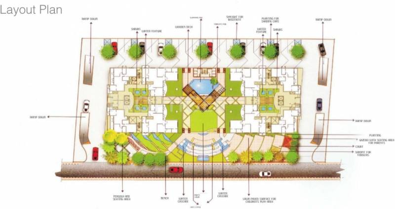 Images for Layout Plan of MRG Aahika