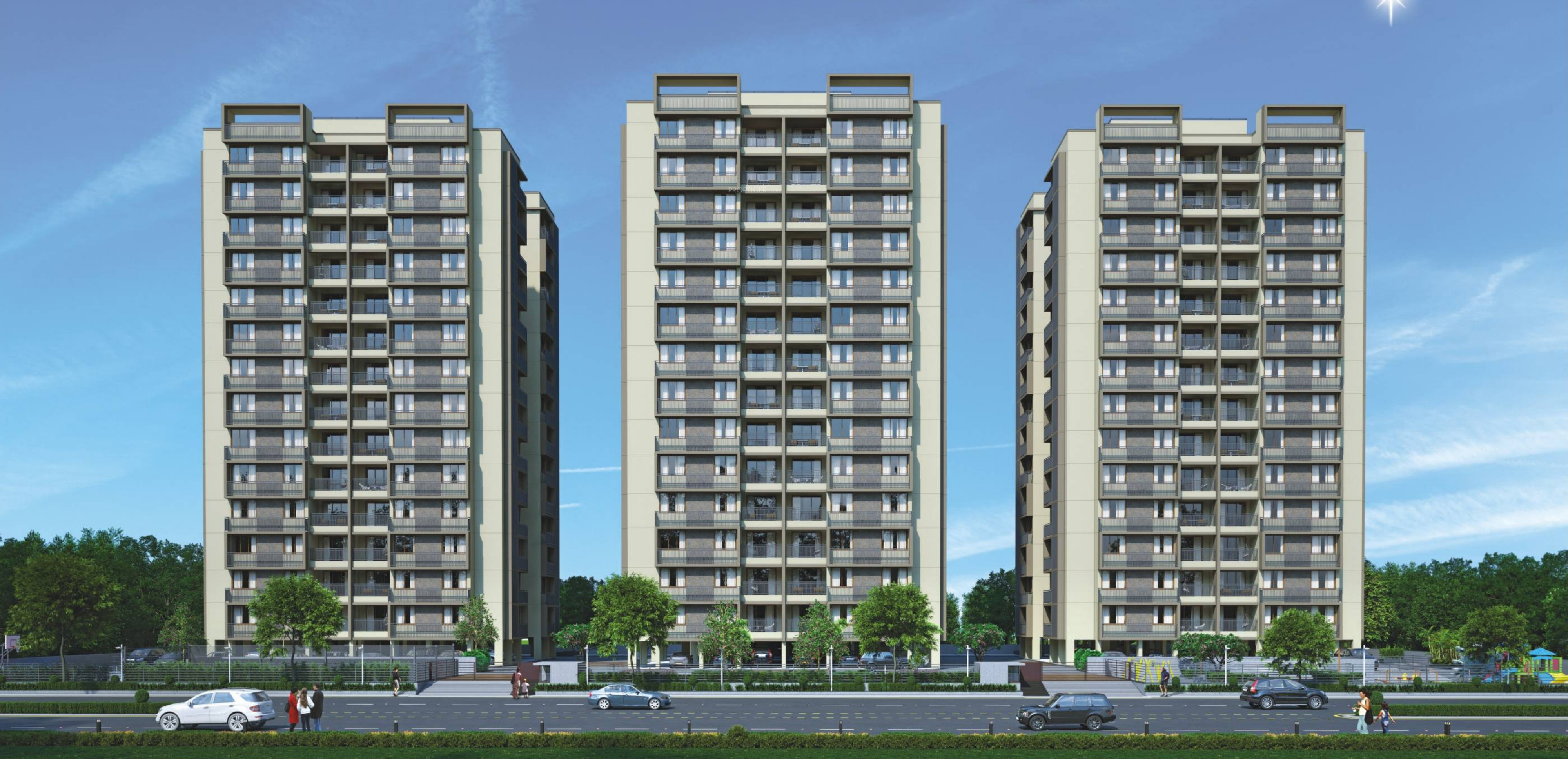 Kala Kalatirth Towers In Motera Ahmedabad Price