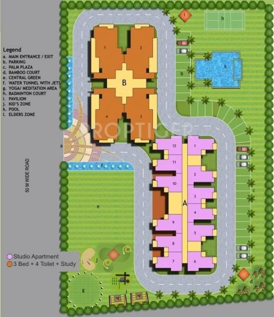 Images for Layout Plan of Maxblis Grand Kingston