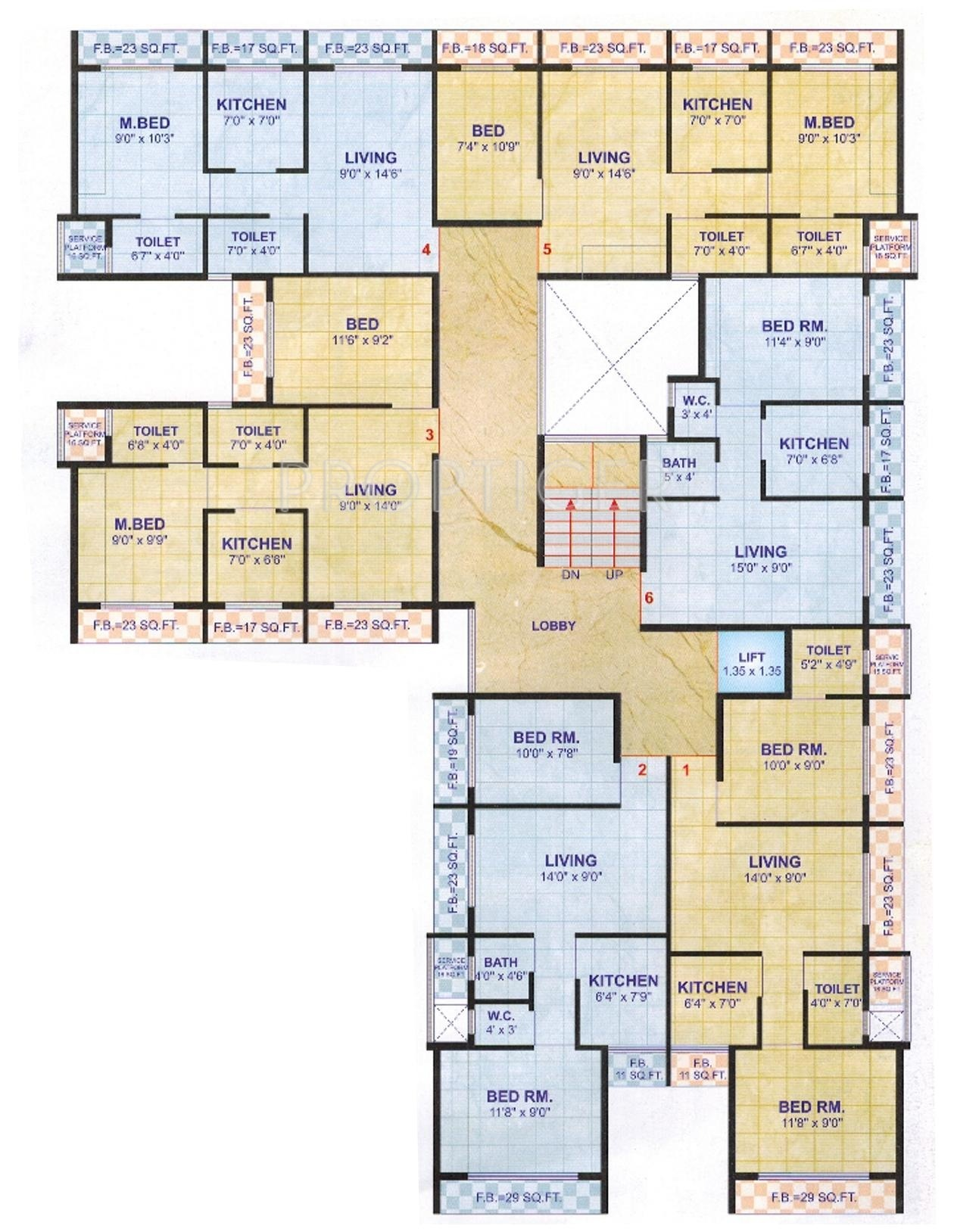 1100 sq ft 2 bhk 2t apartment for sale in madhuraaj group for 1100 sq ft apartment floor plan
