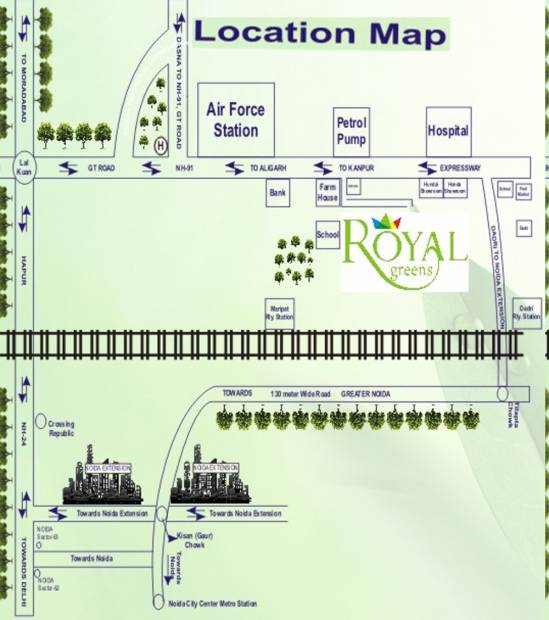 Images for Location Plan of E3 Royal Greens Villa