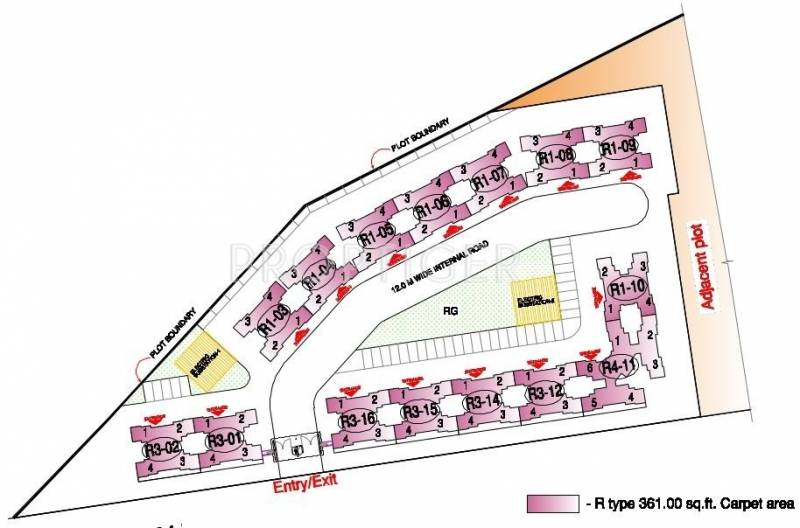 Images for Master Plan of Rustomjee Constructions Avenue G