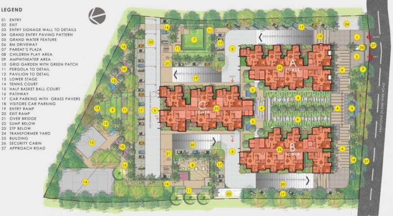 Images for Layout Plan of Vaishnavi Oasis