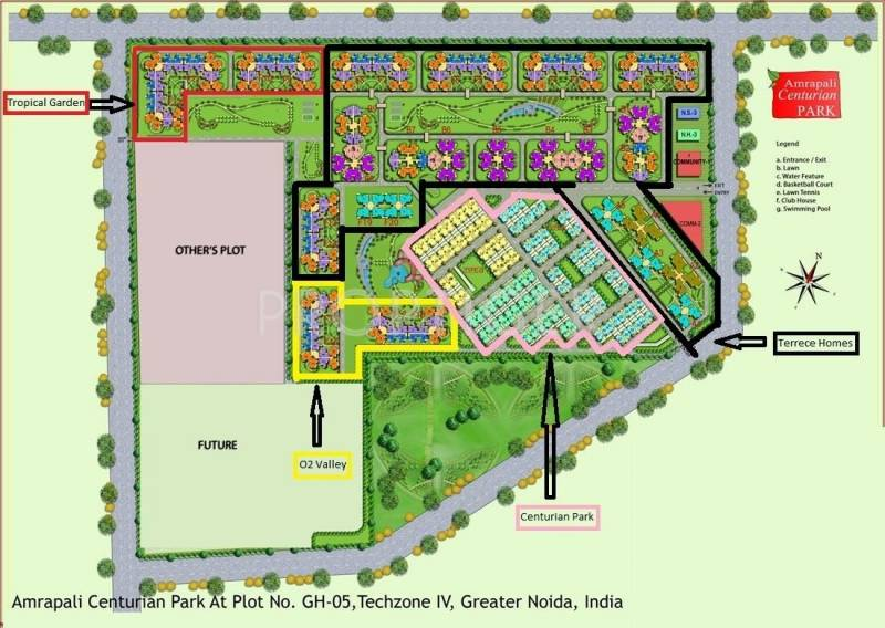 Images for Master Plan of Amrapali Tropical Garden