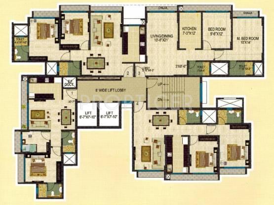 midori Building A Cluster Plan