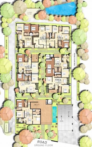 Images for Cluster Plan of Vibrant Advaitha