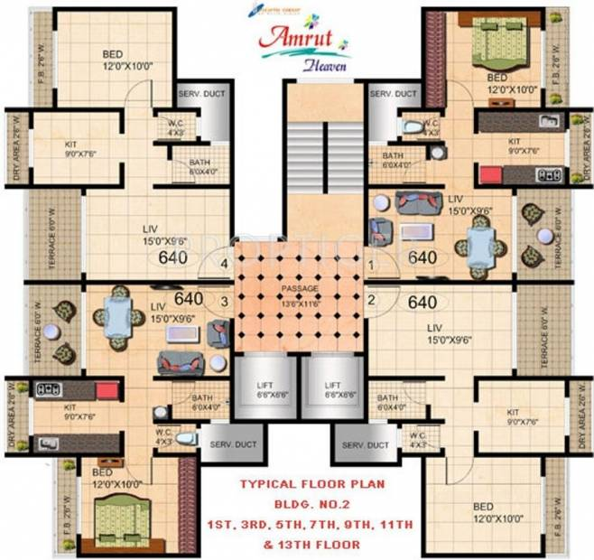 Images for Cluster Plan of Mehta Amrut Heaven