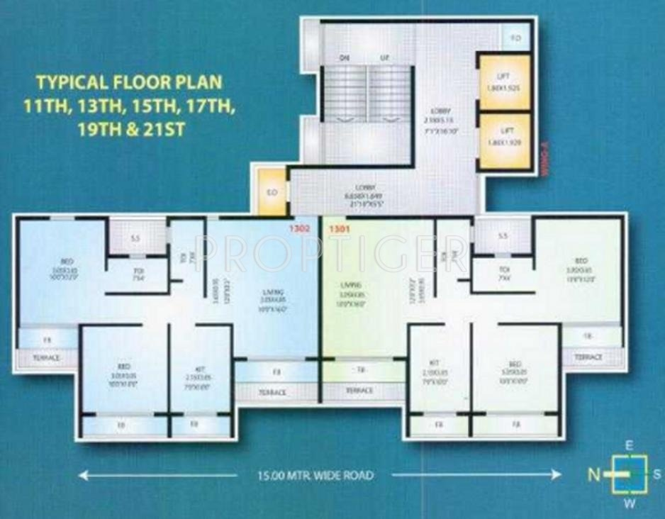 720 sq ft 1 bhk 1t apartment for sale in mahavir for 720 sq ft apartment floor plan