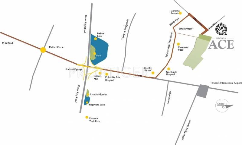 Images for Location Plan of Hoysala Hoysala Ace