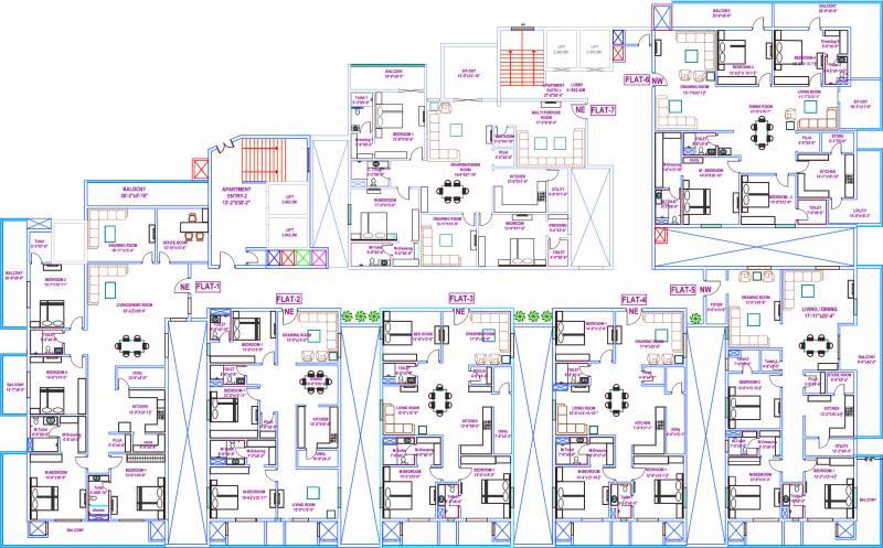 Images for Cluster Plan of Vasavi Usharam Integra