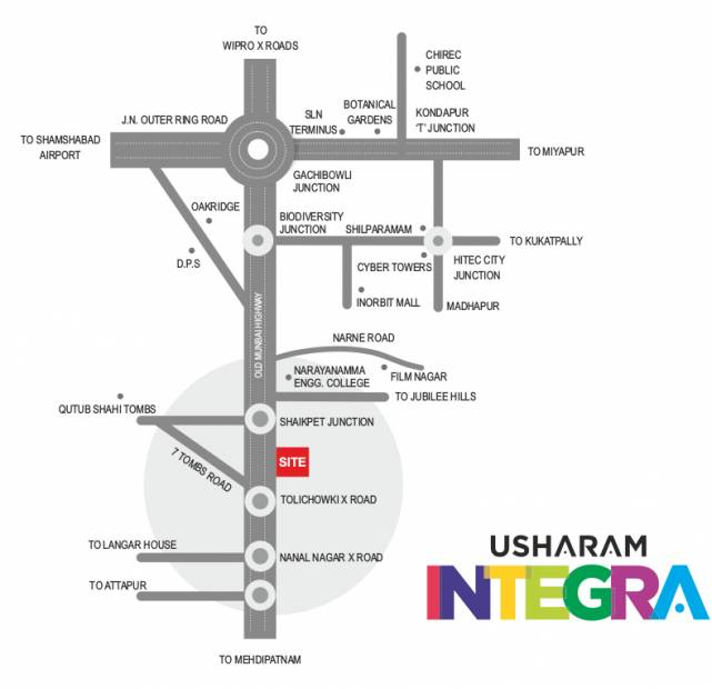 Images for Location Plan of Vasavi Usharam Integra