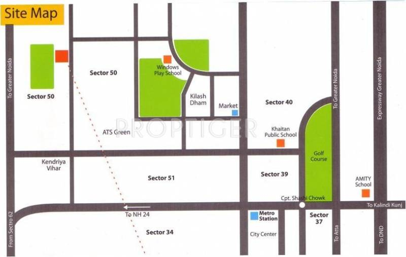 Images for Location Plan of The Antriksh Greens