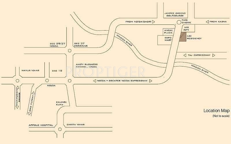 Images for Location Plan of SDS NRI Residency