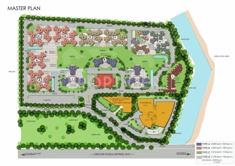 Images for Master Plan of SDS NRI Residency